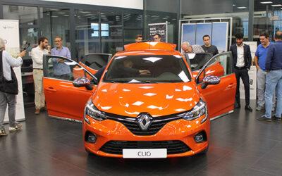 Renault Vearsa presentó el Nuevo Clio en su concesionario de Cogullada
