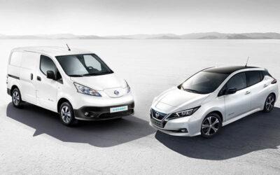 Nissan, líder en vehículos eléctricos en España con dos nuevos récords de sus eléctricos: LEAF y e-NV200