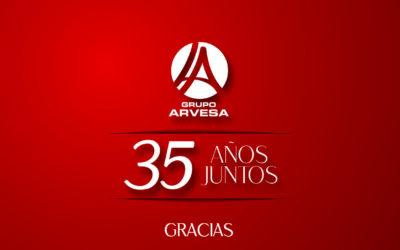 Grupo Arvesa celebra su 35º aniversario