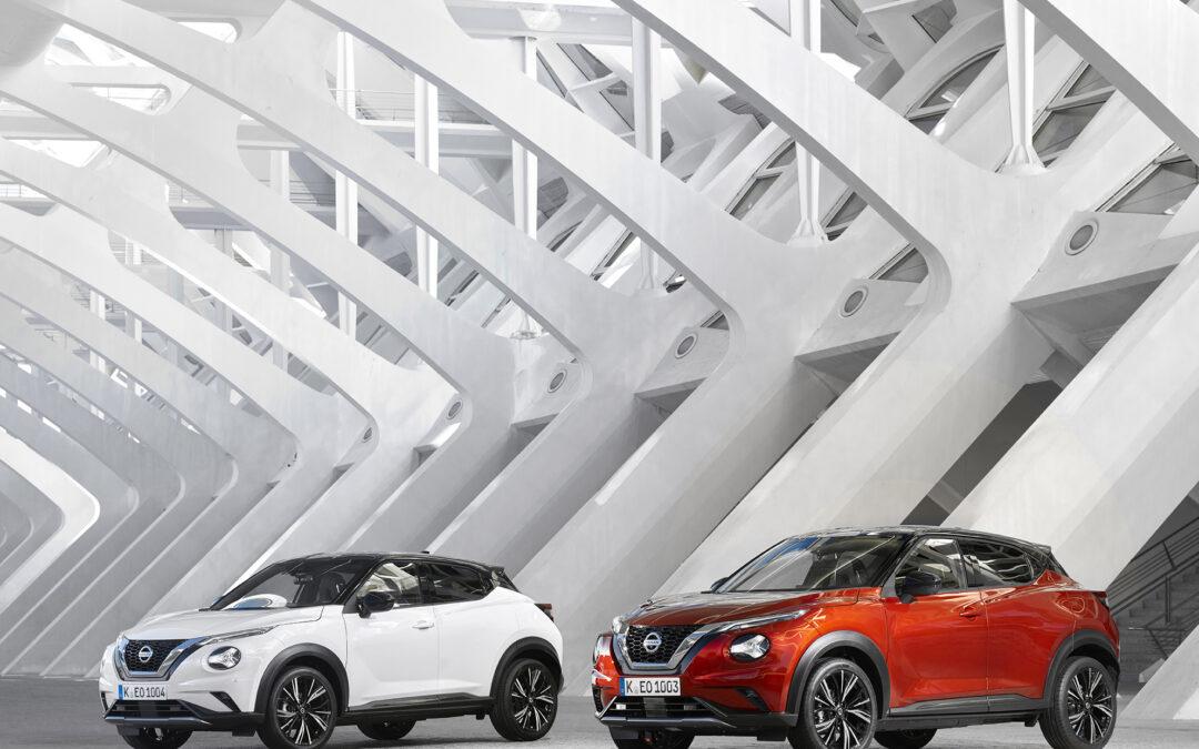 Nissan Juke muestra un crecimiento del 12,6% en lo que llevamos de año